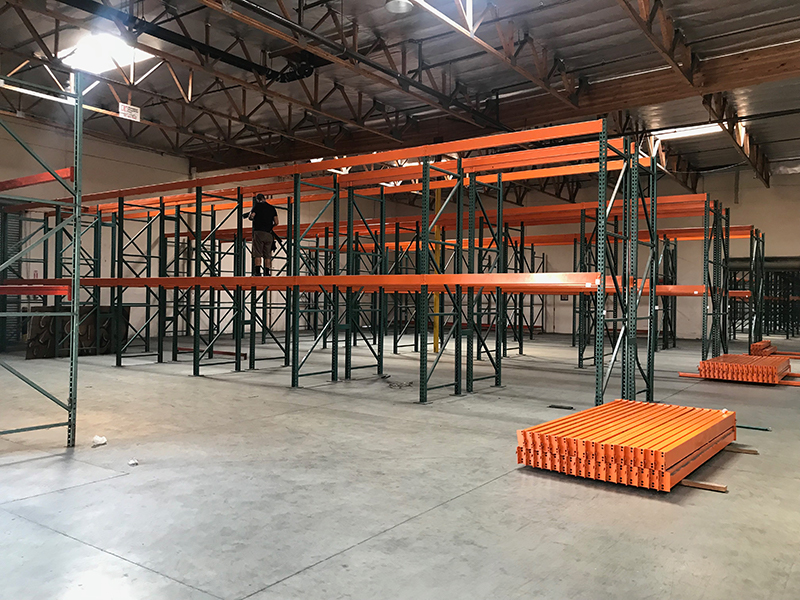 Dismantling and Rack Installation Service by HD SHELVING