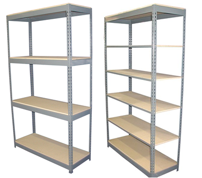 Rivetier Boltless Shelving By SHelf Master Inc.