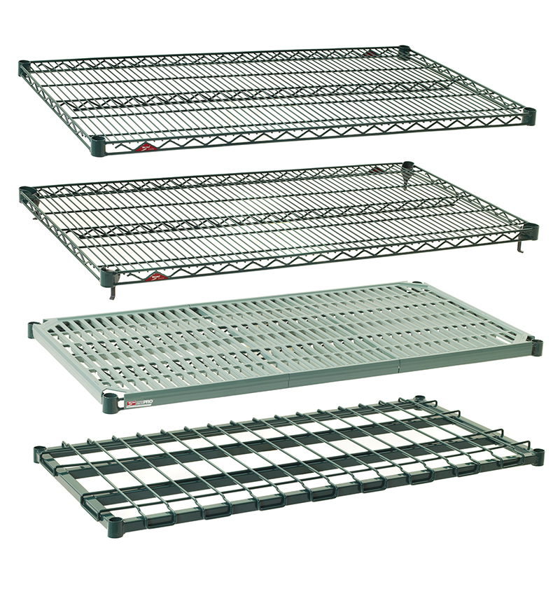 Chrome Wire Shelving Varius Colors